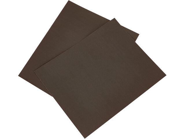 CAMPZ Pièces de réparation en nylon 2 pièces, dark brown
